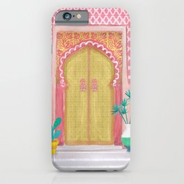 Moroccan doors iPhone Case
