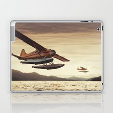 Flying in the Sunset Laptop & iPad Skin