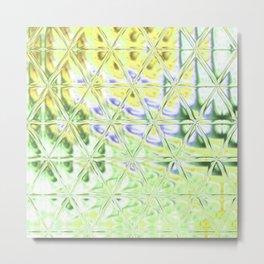 Triangle Glass Tiles 308 Metal Print