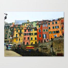 Cinque Terre - Riomaggiore Canvas Print
