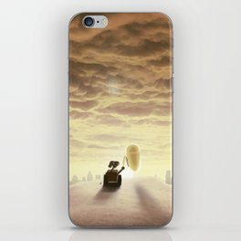 Robo-love iPhone Skin