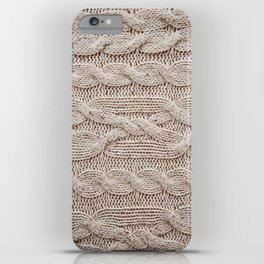 sweater iPhone Case