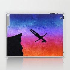 Cliff Dive Unicorn Laptop & iPad Skin