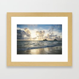 Lanikai Framed Art Print