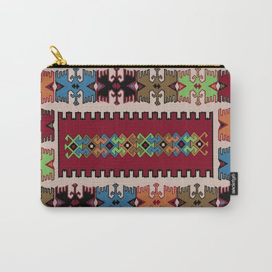 Kilim pattern 026 Carry-All Pouch