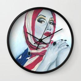 American Ladyboy Wall Clock