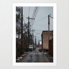 Cold Walks Art Print