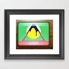Kaleidoscope TV version B Framed Art Print