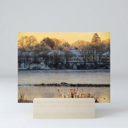 Sea Smoke Sunrise (1) Mini Art Print