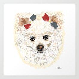 Dog Portrait 1 Art Print