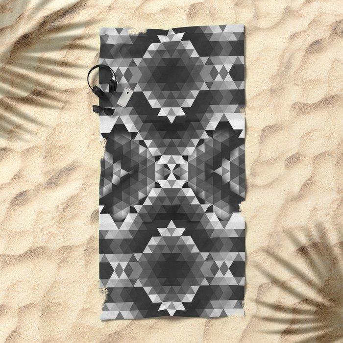 SHINE ON YOU BLACK DIAMOND Beach Towel
