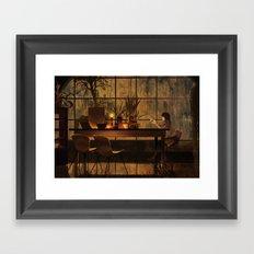 BEKKOUAME Framed Art Print