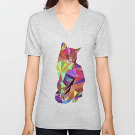 Alfonso the Cat - Karl Kater Unisex V-Neck