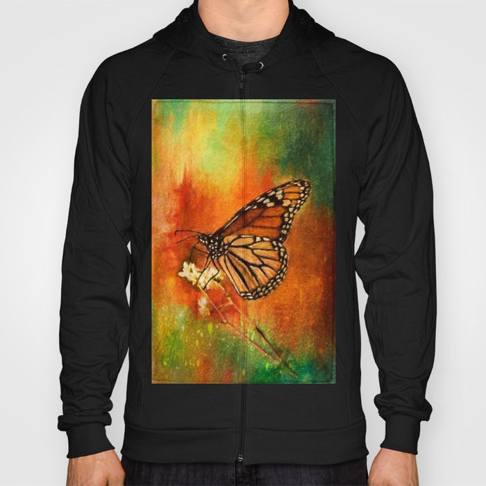 Monarch Butterfly ~ Ginkelmier Inspired Hoody