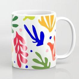 Floral Matisse pattern Coffee Mug