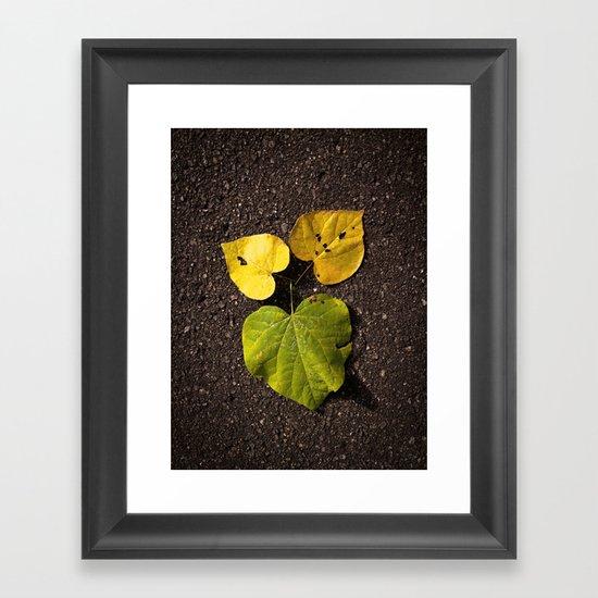 Leaf Love No.2 Framed Art Print