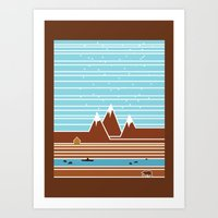 canada Art Prints featuring Canada. by Grant Pearce