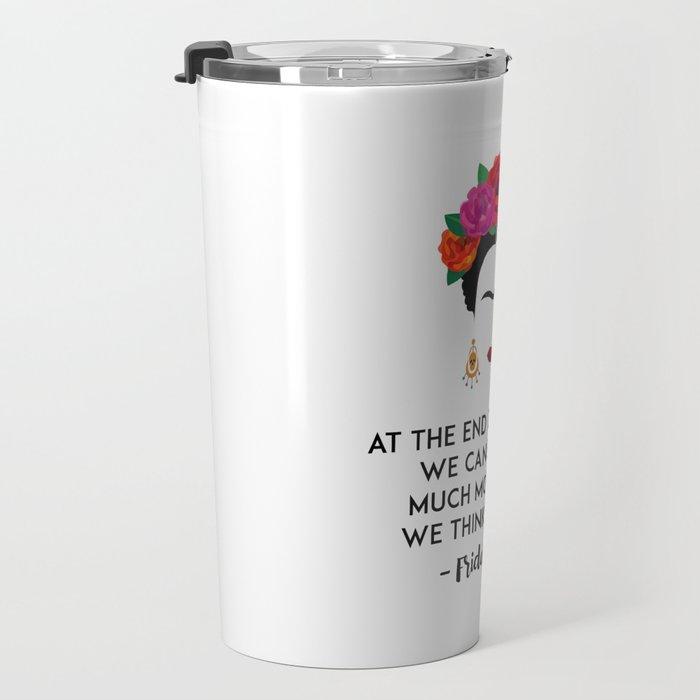 Frida's Strength Travel Mug