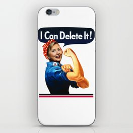 US Election. I Can Delete It! iPhone Skin