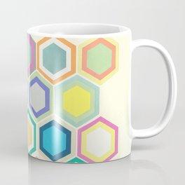 Honeycomb Layers II Coffee Mug