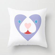 Love Beast Throw Pillow