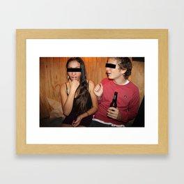 A & A Framed Art Print