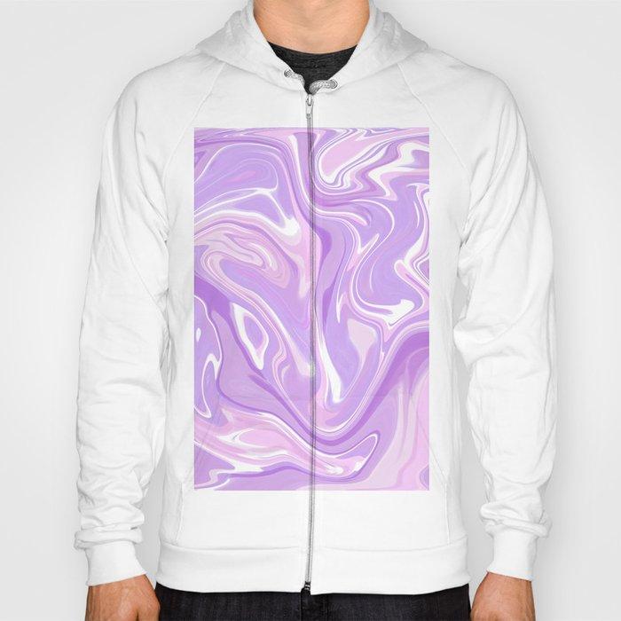 d4e83128 Blend of Pink Purple Velvet Violet Color Marble Hoody by ...