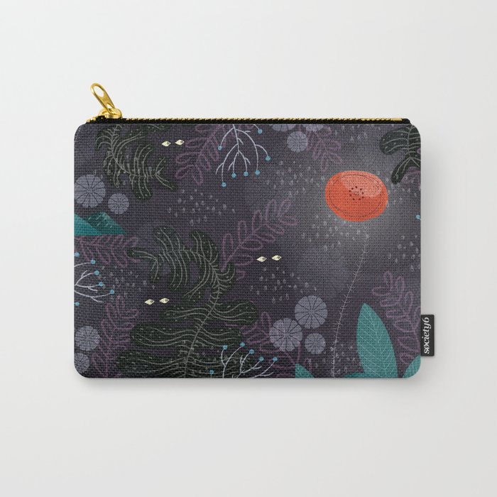 Poppy flower Carry-All Pouch