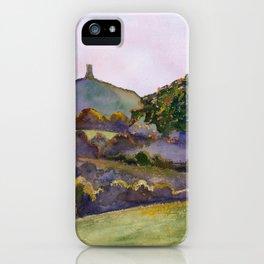 Glastonbury Tor - Somerset, England iPhone Case