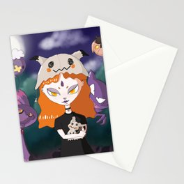 aghastly-friends Stationery Cards