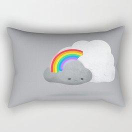 Cloud Hugs by Ballsy Creative Rectangular Pillow
