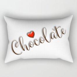 Love Chocolate Rectangular Pillow