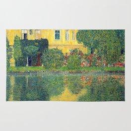 "Gustav Klimt ""Schloss Kammer on the Attersee IV"" Rug"