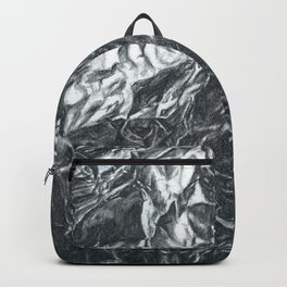 Foil Drawing | Abstract Landscape Backpack