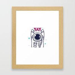 Celebrate Everday Framed Art Print