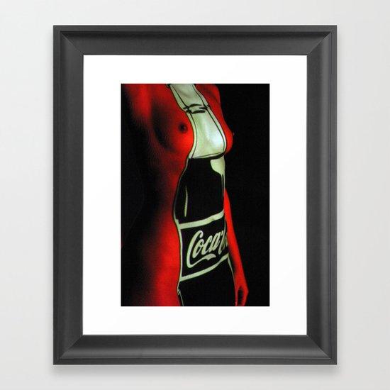 Consumption.Consumed Framed Art Print