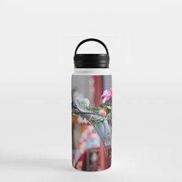 Flowers in the bicycle Water Bottle