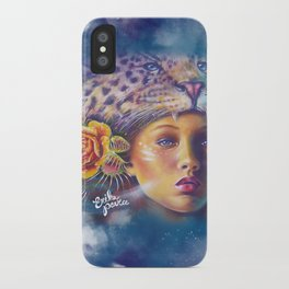 Wild Girl iPhone Case