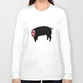 Sausage Pig Long Sleeve T-shirt