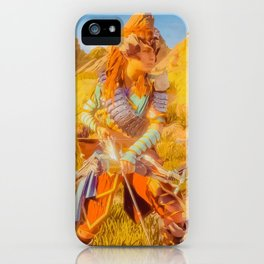 Carja Hunter iPhone Case