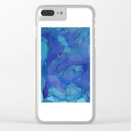 Abstract No. 143 Clear iPhone Case