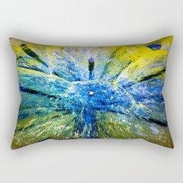 magic colors of water Rectangular Pillow