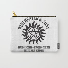 SUPERNATURAL WINCHESTER AND SONS Carry-All Pouch