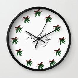 PUCKERUP Wall Clock