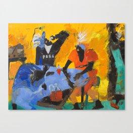 tribo Canvas Print