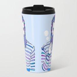 Sea Wolf Ghost (Blue Version) Travel Mug