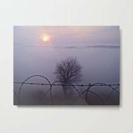 Trapped behind enemy lines! Metal Print