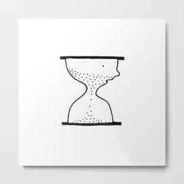 Face-time Metal Print