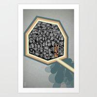community Art Prints featuring Community by Scott Erickson
