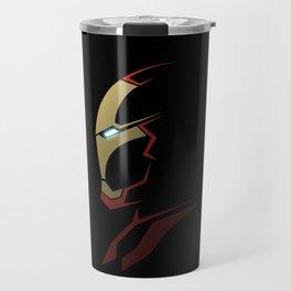 Iron man portrait Travel Mug